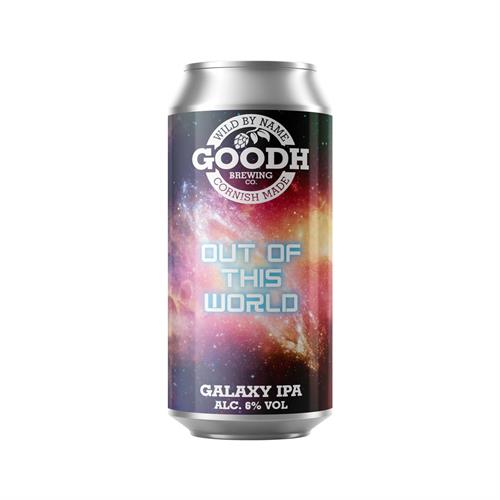 Goodh Brewing Co. Out Of This World Galaxy IPA 6% 440ml Image 1