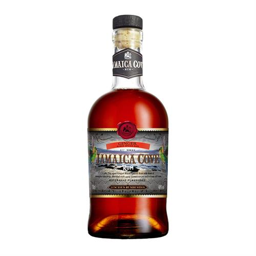 Jamaica Cove Black Ginger Rum 70cl Image 1