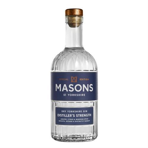Masons Distiller's Strength Gin 53% 70cl Image 1
