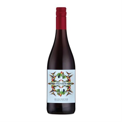 Pilferer Organic Pinot Noir 2018 75cl Image 1