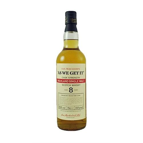 Ian Macleods As We Get It Highland 65.8% 70cl Image 1
