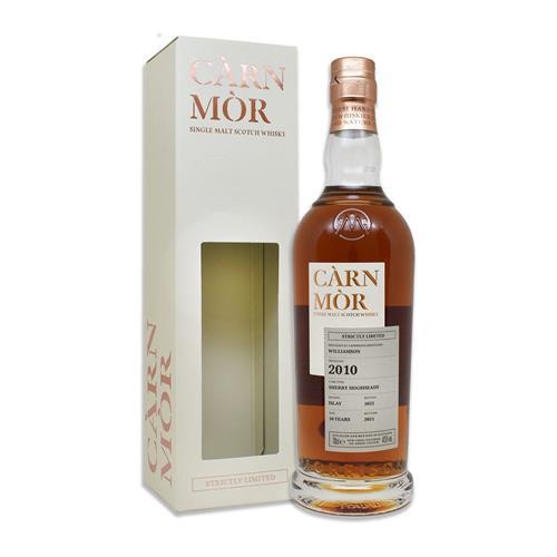 Carn Mor Williamson (Laphroaig) 2010 10 Year Old Single Malt Whisky 70cl Image 1
