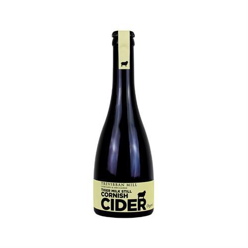 Trevibban Mill Tiger Milk Still Cornish Organic Cider 7.5% 330ml Image 1