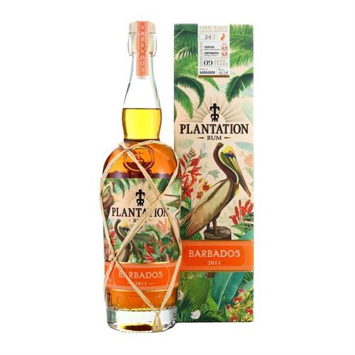 Plantation Barbados 2011 Rum 9 Year Old 51.1% 70cl Image 1