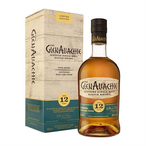 GlenAllachie 12 Year Old Sauternes Wine Cask Finish 70cl Image 1