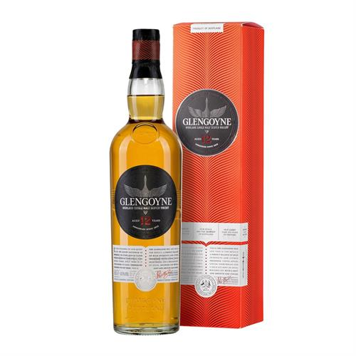 Glengoyne 12 Year Old Single Malt Whisky 70cl Image 1