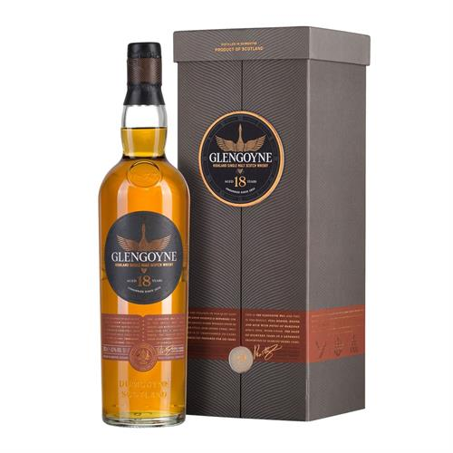 Glengoyne 18 Year Old Single Malt Whisky 70cl Image 1