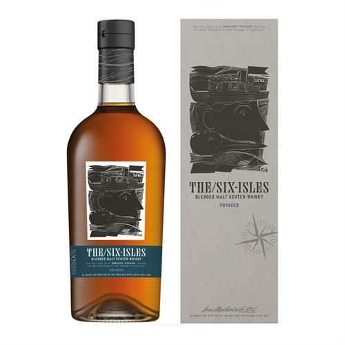 The Six Isles Voyager Blended Malt Whisky 70cl Image 1