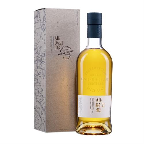 Ardnamurchan AD 04.21:03 Single Malt Scotch Whisky 70cl Image 1