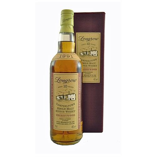 Longrow 10 years old 1991 Sherrywood 46% 70cl Image 1