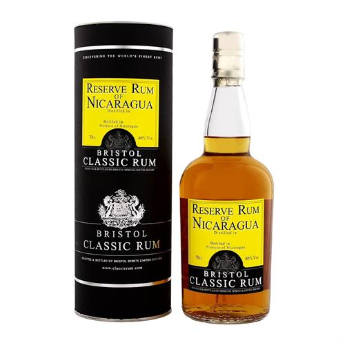 Bristol Classic 1999 Nicaragua 18 Year Old Rum 70cl Image 1