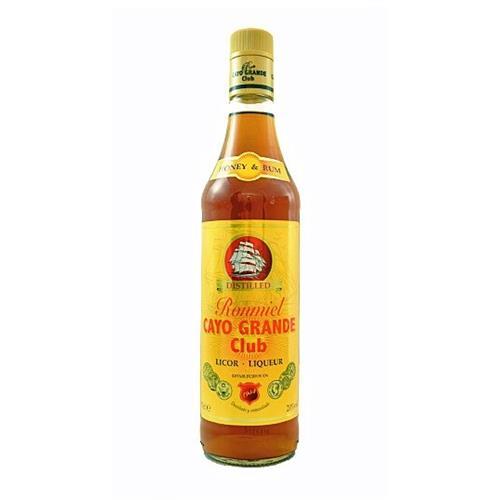 Ron Miel Honey Rum 20% 70cl Cayo Grande Club Image 1