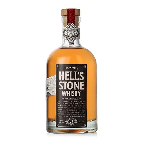 Hell's Stone Blended Whisky Pocketful Of Stones Distillery 70cl Image 1