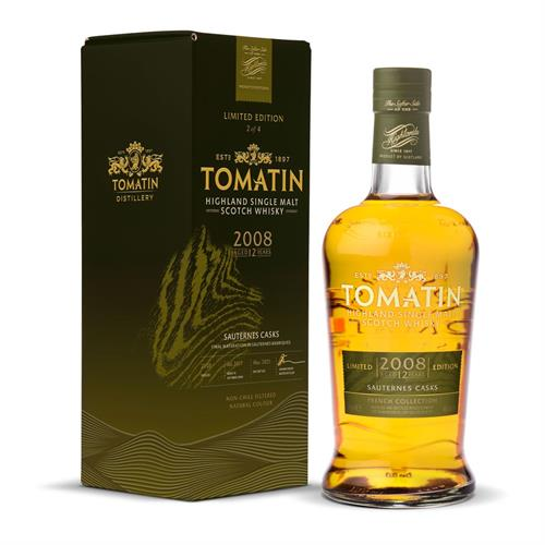 Tomatin The Sauternes Edition French Collection 70cl Image 1