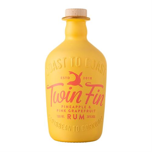 Twin Fin Pineapple & Pink Grapefruit Rum 70cl Image 1