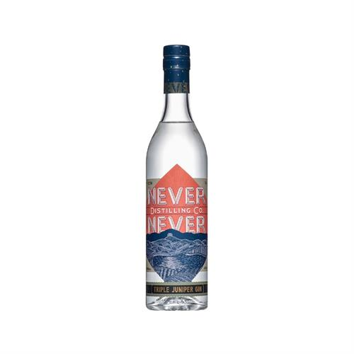 Never Never Triple Juniper Gin 50cl Image 1