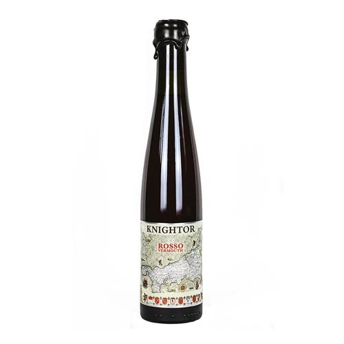 Knightor Cornish Rosso (Red) Vermouth 75cl Image 1