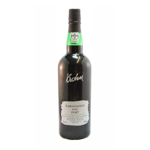 Krohn Ambassador Ruby Port 19% 75cl Image 1