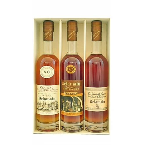 Delamain Trio of Cognac 40% 3x20cl Image 1