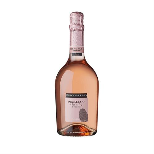Borgo Molino Rose Prosecco Extra Dry 2019 75cl Image 1