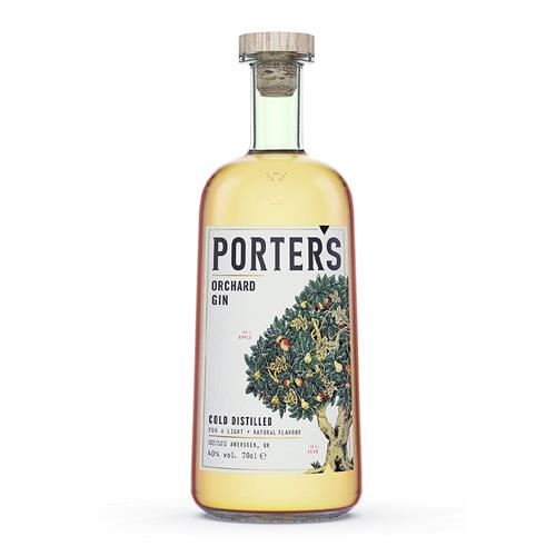 Porters Orchard Gin 70cl Image 1