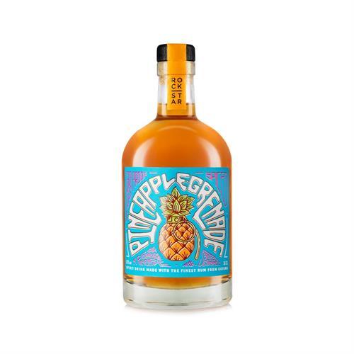 Rockstar Pineapple Grenade Overproof Spiced Rum 65% 50cl Image 1