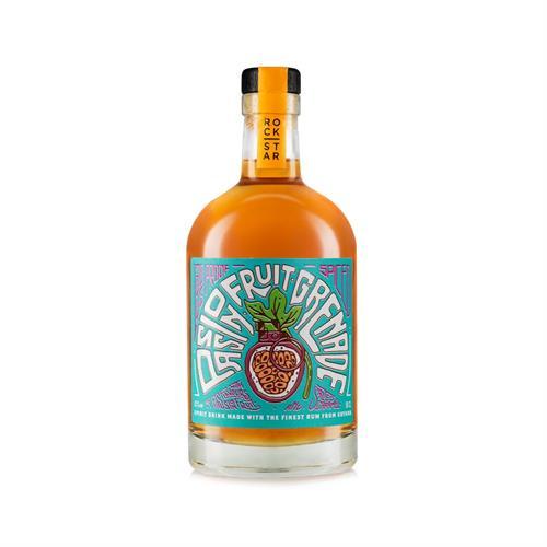 Rockstar Passionfruit Grenade Overpoof Rum 65% 50cl Image 1