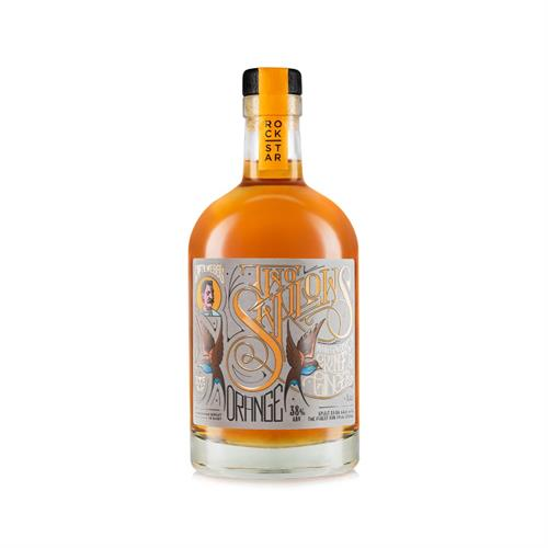 Rockstar Two Swallows Orange & Ginger Spiced 50cl Image 1