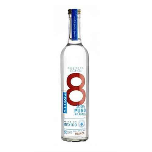 Ocho 8 Blanco Tequila 40% 50cl Image 1