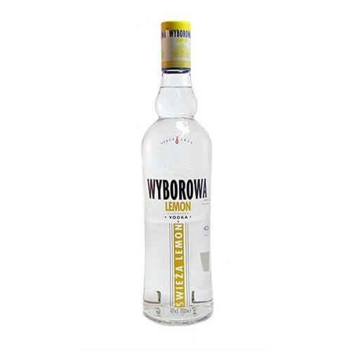 Wyborowa Lemon Vodka 40% 70cl Image 1