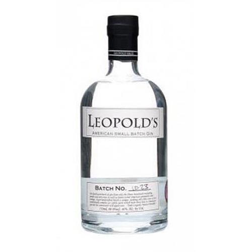 Leopolds small Batch Gin Batch No. 10-24 40% 70cl Image 1