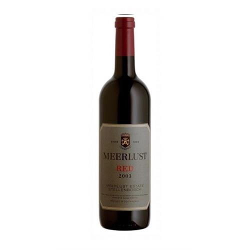 Meerlust Red 2017 75cl Image 1