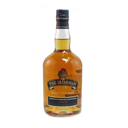 Irishman 70 whiskey (old Label) 40% 70cl Image 1