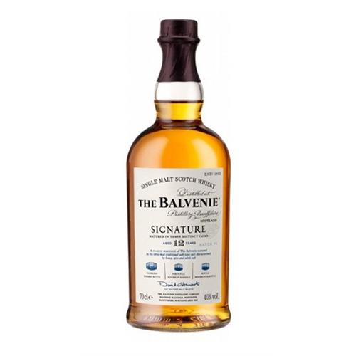Balvenie Signature 12 years old Batch No. 5 40% 70cl Image 1
