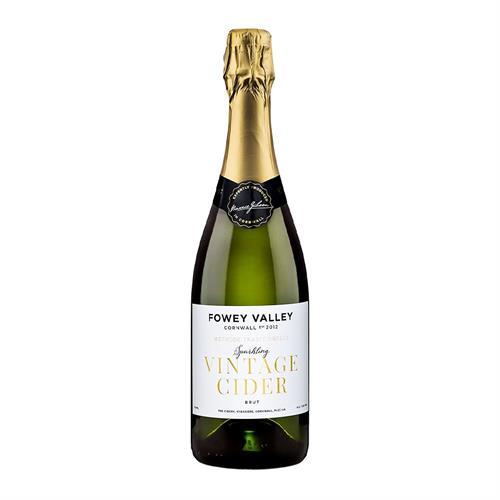 Fowey Valley Sparkling Vintage Cornish Cider 7.5% 750ml Image 1