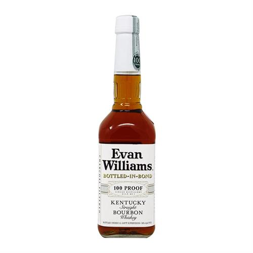 Evan Williams White Label Bottled in Bond 50% 70cl Image 1