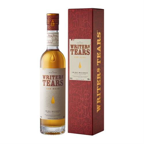 Writers Tears Red Head Irish Whiskey 70cl Image 1
