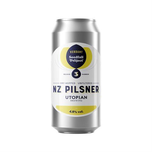 Verdant Seedfall New Zealand Pilsner 4.8% 440ml Image 1