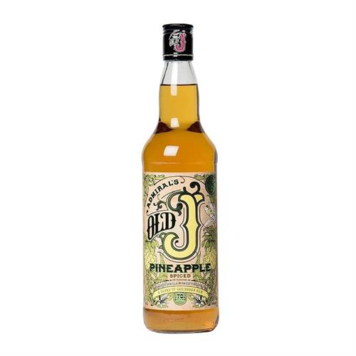 Admiral Vernons Old J Pineapple Spiced Rum 70cl Image 1