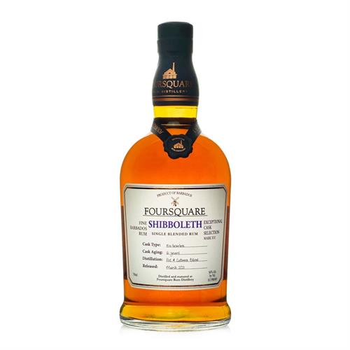 Foursquare Shibboleth 16 Year Old Exceptional Cask Selection 70cl Image 1