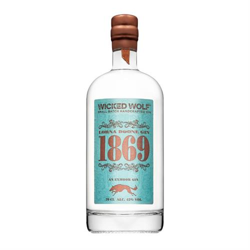 Wicked Wolf 1869 Gin 70cl Image 1