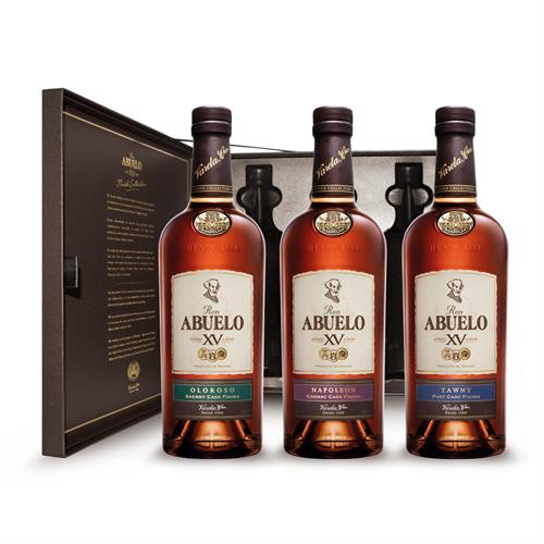 Ron Abuelo XV Finish Collection (3 x 20cl) Image 1