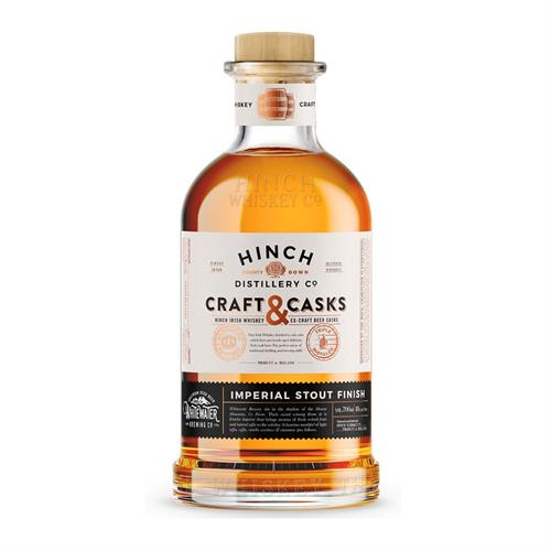 Hinch Craft & Casks Irish Whiskey Imperial Stout Finish 70cl Image 1