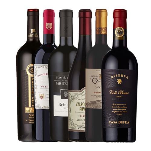 Italian Red Wine Case 6x75cl Image 1