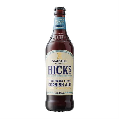 Hicks Traditional Strong Cornish Ale 500ml Image 1