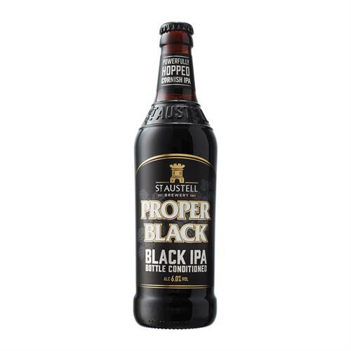 Proper Black Limited Release Black IPA 6% 500ml Image 1