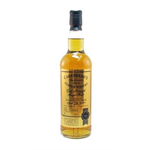 Bunnahabhain 28 years old 1979 Cadenheads 70cl Image 1