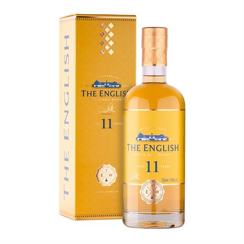 The English Whisky Co. The English 11 Year Old Whisky Batch 1 70cl Image 1