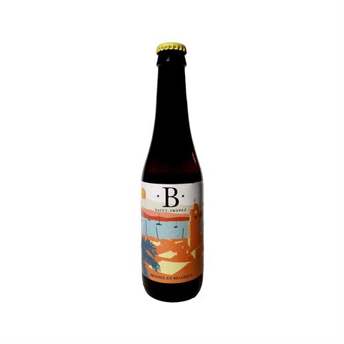 B by Blonde of Saint-Tropez Belgian Blonde Ale 4% 330ml Image 1
