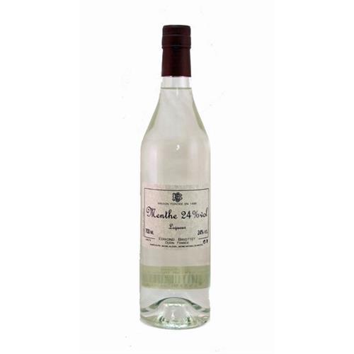 Creme de Menthe Blanc Edmond Briottet 21% 70cl Image 1